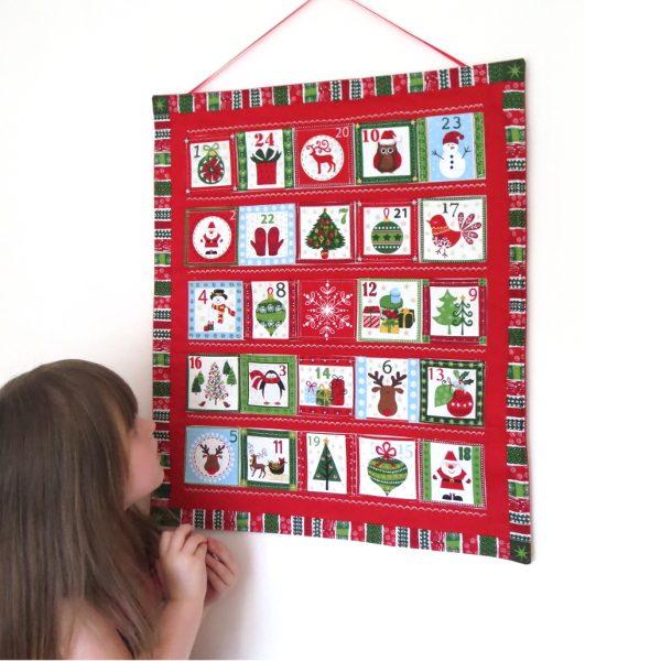 Scandinavian reusable handmade advent calendar